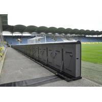 P10 1R1G1B full color stadium outdoor advertising led display / P10 Football Stadium Perimeter LED Display / IP65