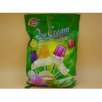 Small Yogurt Covered Ice Cream Lollipop / Hard Candies With Multi Fruit Flavor