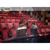 Buy cheap Extraordinary Sound Vibration 4D Movie Theater With Black Vibration Chairs product