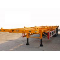 Buy cheap 30t Payload 2 Axles 40ft Skeleton Container Semi Trailer from wholesalers