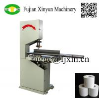 Buy cheap Low price semi automatic toilet paper and kitchen towel paper band saw cutting machine from wholesalers