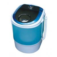 Buy cheap Blue Portable Quiet Single Tub Washing Machine With Dryer 2.8 Kg Transparent Plastic Cover from wholesalers
