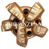 Buy cheap Steel Body Polycrystalline Diamond Drill Bits 165MM 6 1/2 Inch With Middle Cutter product