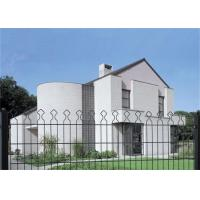 Buy cheap PVC Coated Triangle Bending Welded Steel Mesh Panels , Palisade Security Gates from wholesalers