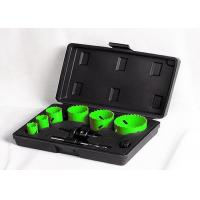 Buy cheap HSS Wood / Plastic Bimetal Hole Saw Set With Multiple Knock - Out Slots from wholesalers
