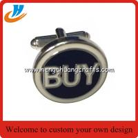 Buy cheap Pure color imitation enamel cufflink for mens shirts, initials cufflink,Custom Made Design Logo Cufflink Manufacturer from wholesalers