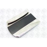 Buy cheap Custom Money Clip and Credit Card Holder Black and Silver Tones from wholesalers