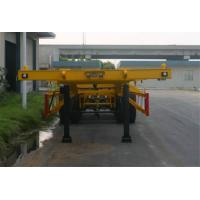 Buy cheap Steel 2 Axles Tank Container Trailer Chassis / 20 Foot Container Chassis from wholesalers