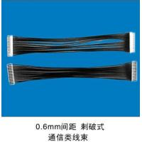 Buy cheap Data Communications Electronics Wire Harness , JST 0.6MM Pitch Connector from wholesalers
