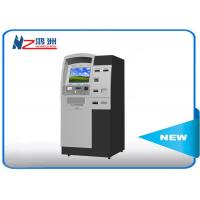Buy cheap Indoor free stand self ordering kiosk with thermal printer for visitor from wholesalers