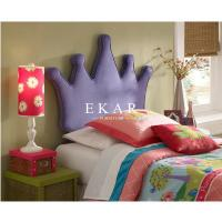 Buy cheap Crown Shaped Headboard High Fabric Bed For Girl from wholesalers