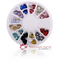 Buy cheap Heart Crystal Stone For Nail Decoration from wholesalers