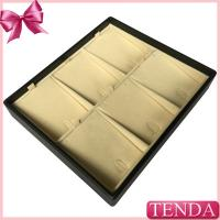 Buy cheap Customized Wooden MDF Velvet Leatherette PU Leather Display Trays for Jewelry Jewellery from wholesalers