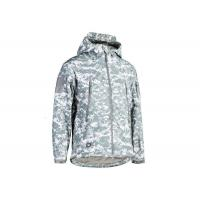 Buy cheap Military Style ACU Tactical Fleece Jacket Windbreaker jacket and army clothing or fleece jacket with cap from wholesalers