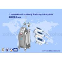Buy cheap Vacuum Cryolipolysis / Cool Body Sculpting Membrane / Criolipolisis Cellulite Reduction Machine from wholesalers