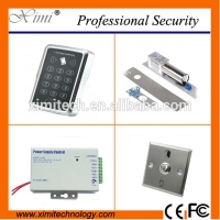 Buy cheap Standalone rfid access controller without software exdit button and power supply door access controller kits from wholesalers