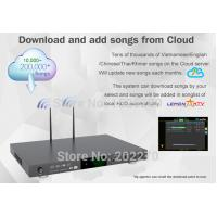 Buy cheap Android home ktv jukebox karaoke player with songs cloud ,support video with H.265 from wholesalers