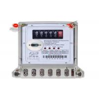 Buy cheap Register Display Digital Energy Meter Two Phase Three Wires Electronic KWH Meter from wholesalers