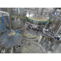 4000BPH Carbonated Drink Filling Machine PLC Control For Pet Botteled Drinks
