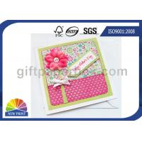 Buy cheap Professional Mothers' Day Greeting Cards Printing Service / Festival Greeting Cards Printing from wholesalers