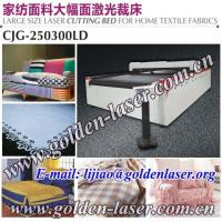 Buy cheap CNC Roll Textile Laser Cutter Bed CJG-250300LD from wholesalers