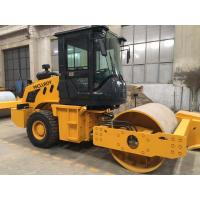 Buy cheap 6 T Full - Hydraoulic Vibratory Road Roller CLG610H SR10P Work With Sheep Foots from wholesalers