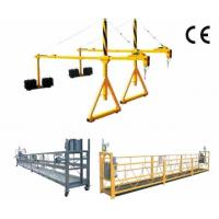 800 Rated load Personalized Rope Steel Suspended Platform with Dipping Zinc