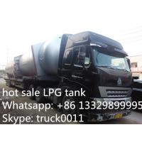 facrory price 40 metric tons bulk LPG tank for sale, high quality and competitive price LPG gas storage tank for sale