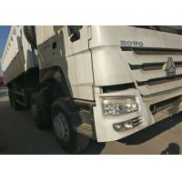 Buy cheap Commercial Heavy Dump Truck 371HP 8X4 LHD 50 Tons 30 CBM EURO2 Emission from wholesalers