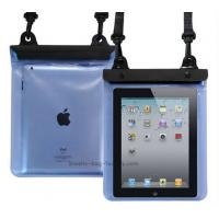 Transparent Waterproof Pouch Bag TPU / PVC Materials 100% Sealed For Ipad