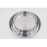 Buy cheap 3pcs  Bakeware Stainless Steel Cake Plate Nonstick Pizza Pan from wholesalers