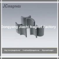 Buy cheap Arc Shaped Hard Sintered Hard Ferrite Magnet from wholesalers