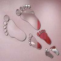 Buy cheap Silver Removable CM-055 Acrylic Removable Wall Mirror Sticker from wholesalers