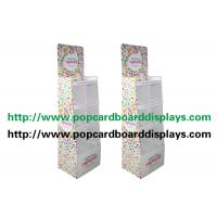 Buy cheap Sports Cardboard Display Stand Full Color Printing with 6pcs Pockets from wholesalers