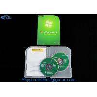 Buy cheap 32 / 64 bit Windows 7 Install DVD Disc , Windows 7 Home Premium retail box product