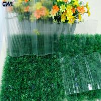 Buy cheap High Light Transamission Strength Imapct Resistance corrugated clear plastic sheets from wholesalers