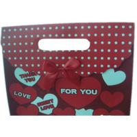 Buy cheap Custom Made Personalized Christmas Wrapping Paper Gift Bags With CYMK Color product