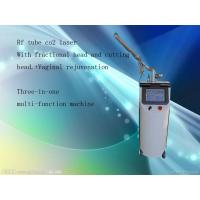 Buy cheap Warts Removal Fractional Co2 Laser Equipment Gray + White Color For Skin Tightening from wholesalers