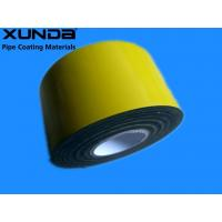 Buy cheap EN 12068 Polyethylene Corrosion Resistant Tape / Yellow Pipe Wrapping Tape from wholesalers