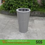 Buy cheap Waterproof Wicker Flower Baskets For Garden /beach Side from wholesalers