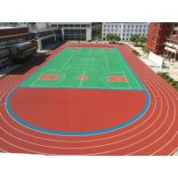 Buy cheap High Strenth EPDM Running Track Environmental Friendly Tear Resist from wholesalers