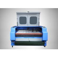 High Power CO2 Laser Cutting Machine / Auto Feeding Garment Laser Cutting Machine