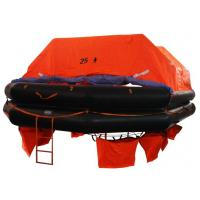 Buy cheap CCS/EC Marine Life Saving Equipment 25 Persons Throw Overboard Inflatable Life Rafts from wholesalers