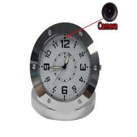 Buy cheap Motion Detection Clock Camera Digital Video Recorder Table Home security clock radio hidden camera from wholesalers