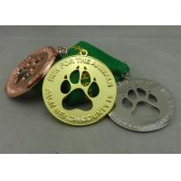 Buy cheap Race Ribbon Medals Enamel Customizabled Sports Medals For Company from wholesalers