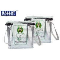 Buy cheap Envelope Bag PVC Sealed Plastic Ballot Box , Locking Ballot Box SGS Certification from wholesalers