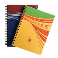 Buy cheap Hard Cover Spiral Notebooks,Customized Double coil Notebooks from wholesalers
