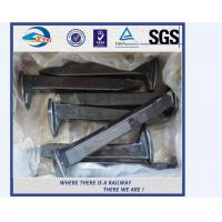 Buy cheap Galvanized Railroad Track Spikes , Q235 Screw Spikes Railroad from wholesalers