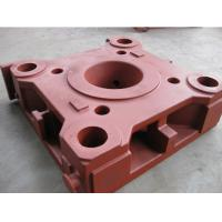 Buy cheap CNC Milling Resin sand casting ductile iron platen for plastic injection molding Machine from wholesalers