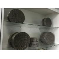 Buy cheap Stainless Steel Metal Mesh Corrugated Regular Packing For Chemical Distillation Tower from wholesalers